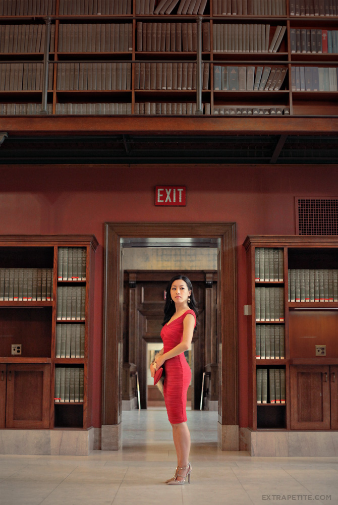asos red dress boston public library7