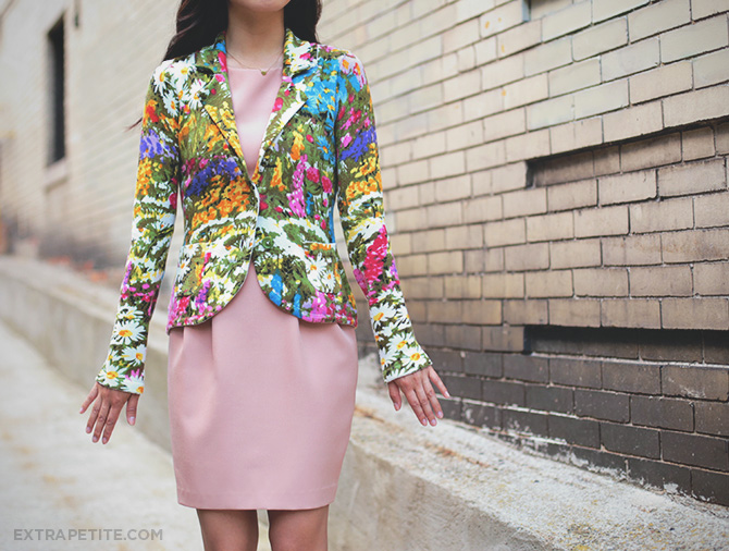 anthropologie petite floral jacket 3