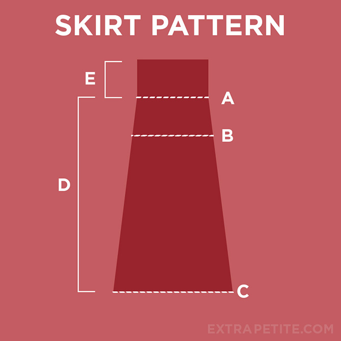 foldover waist skirt tutorial