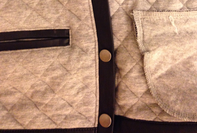 gap kids quilted jacket closeup