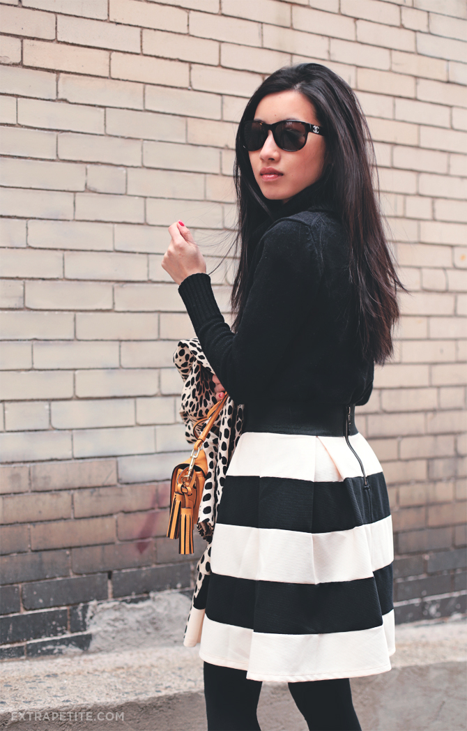 modcloth striped skirt1