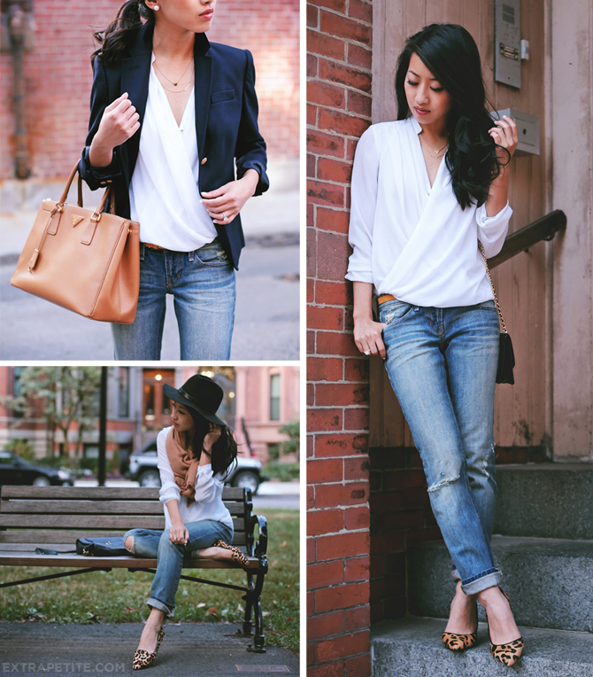 white top denim scarf looks 670