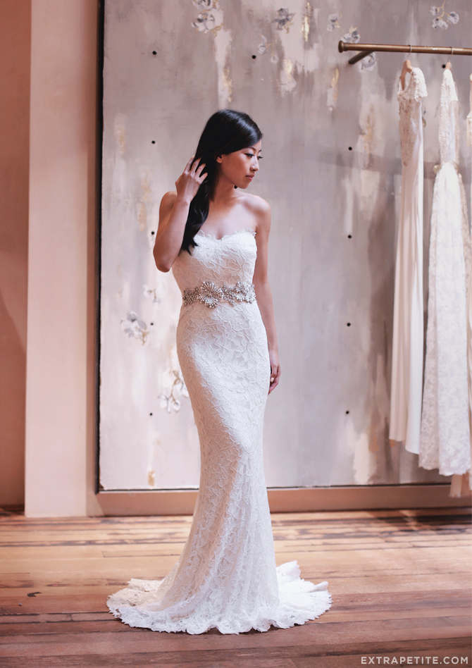 Petite friendly wedding dress search extra petite for Wedding dress finder
