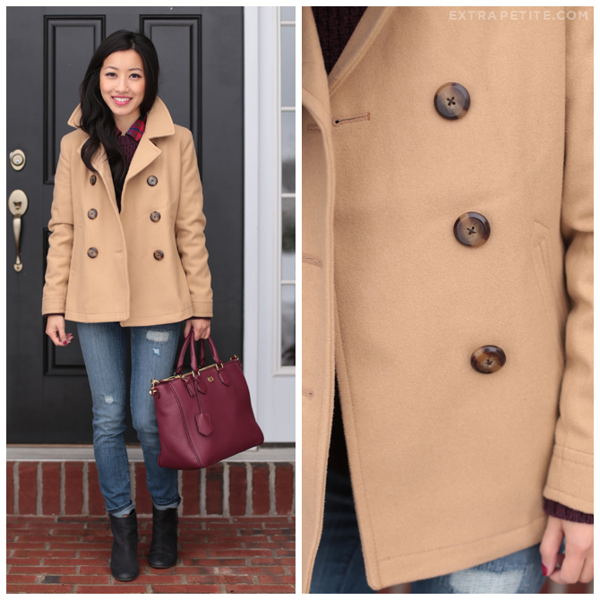 old navy camel coat
