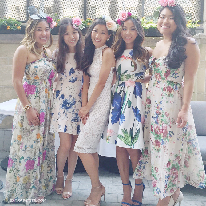 bridesmaids flower crowns