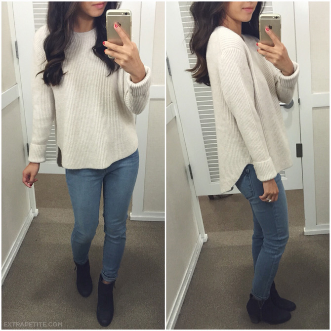 loft petite sweater review