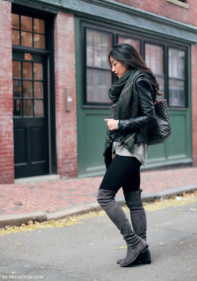 Casual Layers Stuart Weitzman Lowland Boots Review