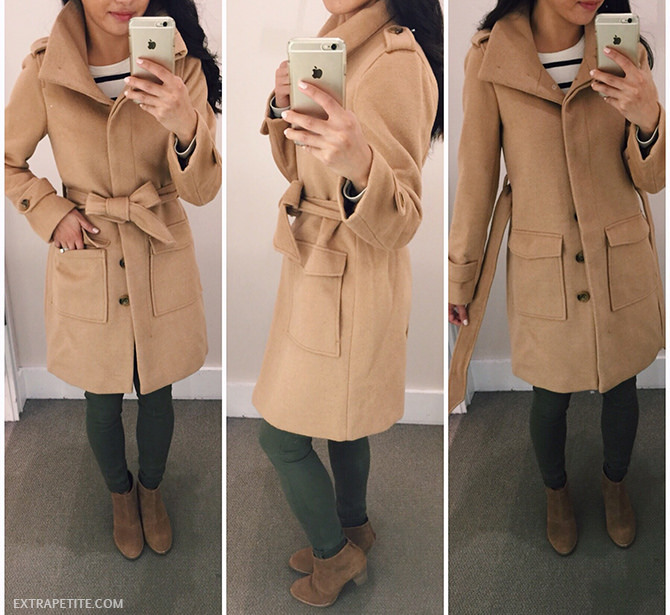 Friends & Family sales: LOFT Camel coat   olive legging jeans ...