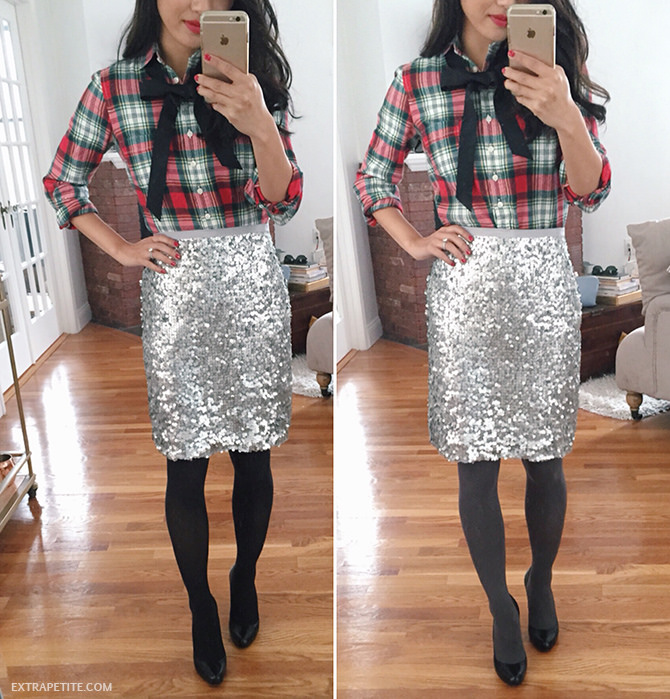 Christmas Dress Ideas For Office Party Part - 43: Gray Or Black Tights To Wear With Winter Outfits