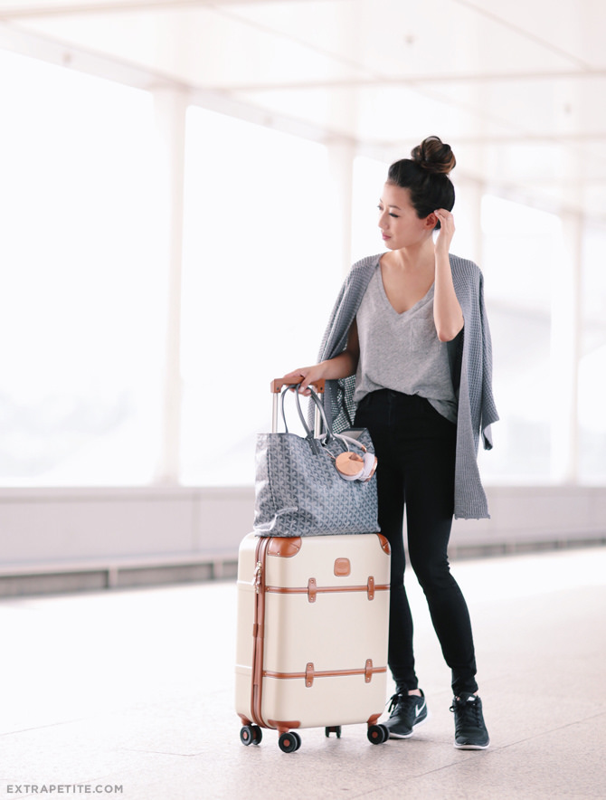 packing outfit beauty and travel tips for a long flight