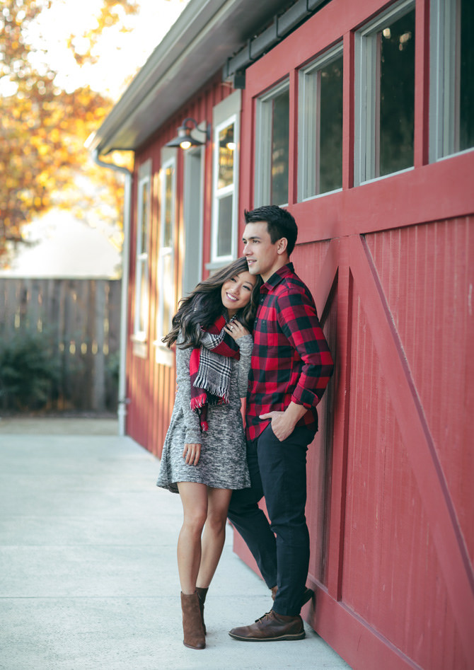 Cozy Napa Valley Getaway // His & Hers Casual Holiday Style