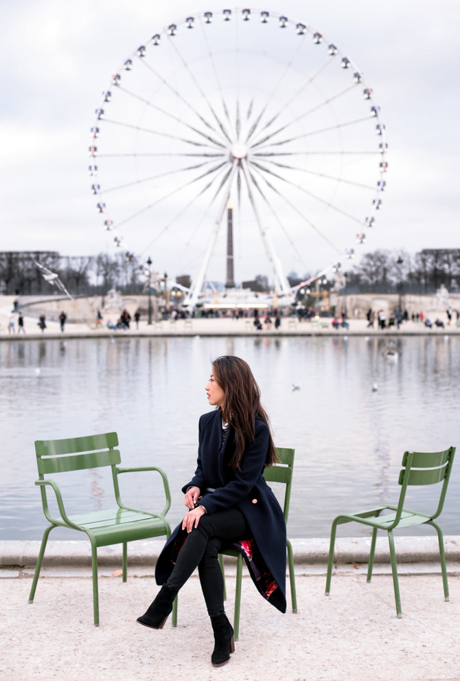 paris ferris wheel jardin des tuileries