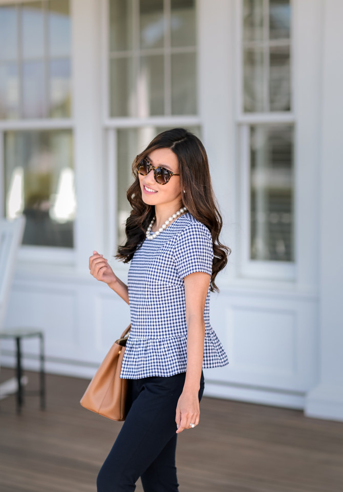 classy spring summer work office outfit petite fashion