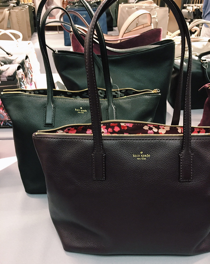 kate spade leather tote laptop work bag review nordstrom sale