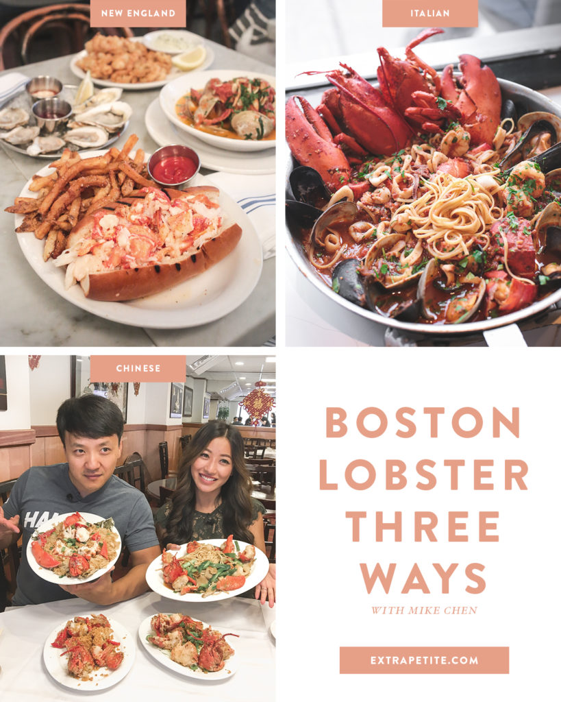 Where to get the best lobster rolls and seafood pasta in boston
