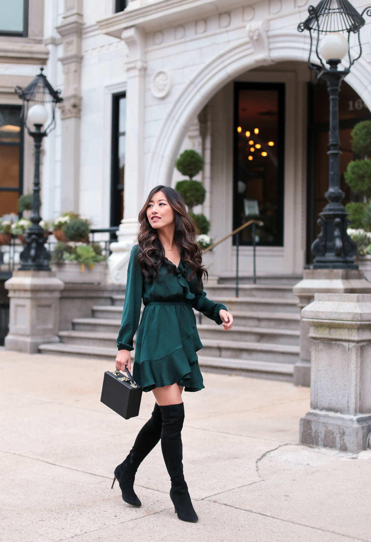 Fashion Blog By Carla: Fall Date Night / Holiday Party Dress