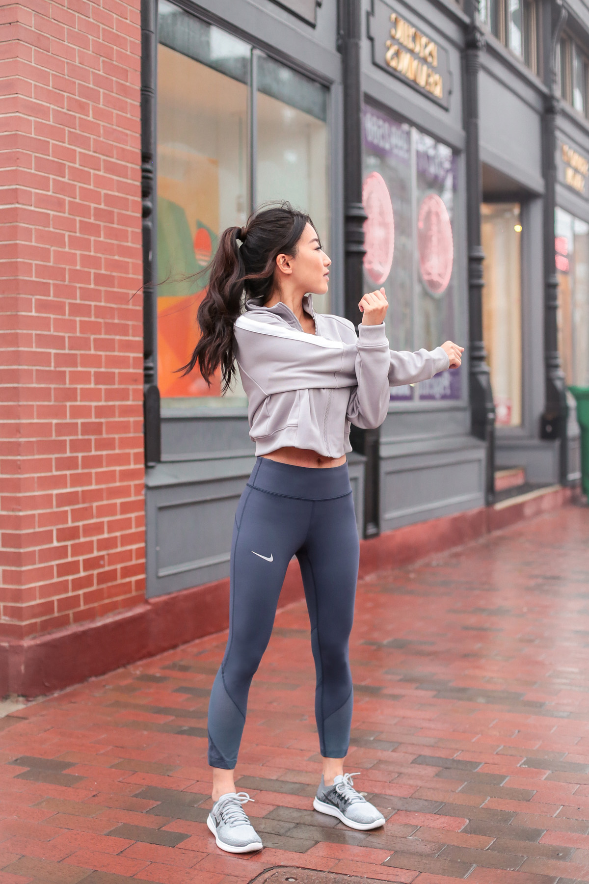 boston blogger fitness classes workout clothing