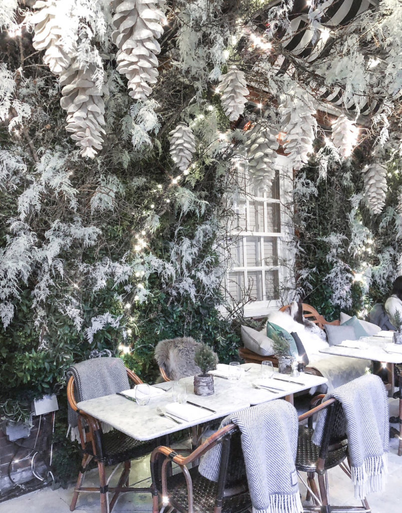 dalloway terrace bloomsbury hotel winter wonderland brunch