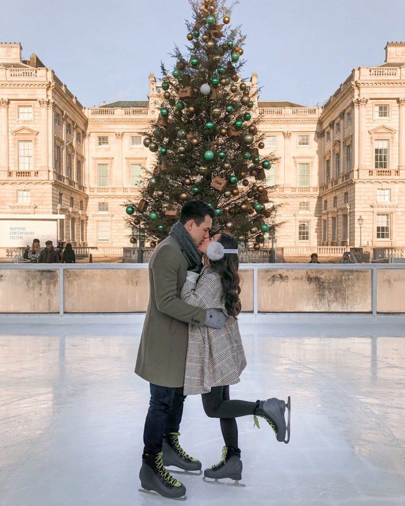 somerset house london ice skating rink romantic christmas activities